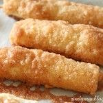 Cinnamon Cream Cheese Roll-Ups--I used to make these a lot for bring in dinners. They are so good.