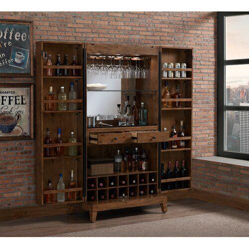 Nigel Bar Cabinet Bar Cabinet Stemware Holder Cabinet