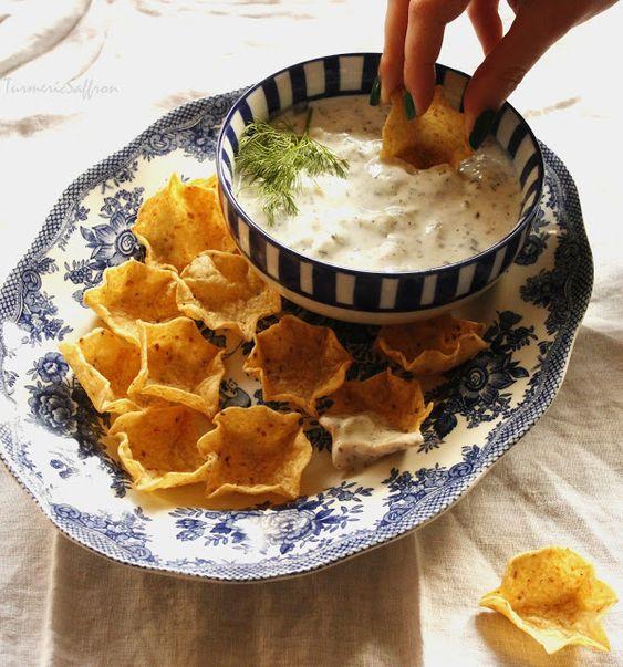 Turmeric & Saffron: Mast-o-Khiar - Persian Yogurt and Cucumber Dip