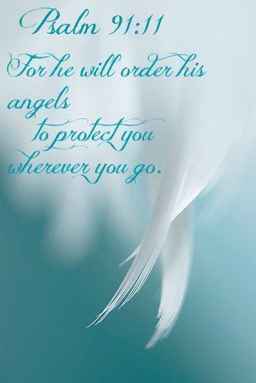 I thank my Guardian Angel in advance! From my dear Friend ~ Hilda