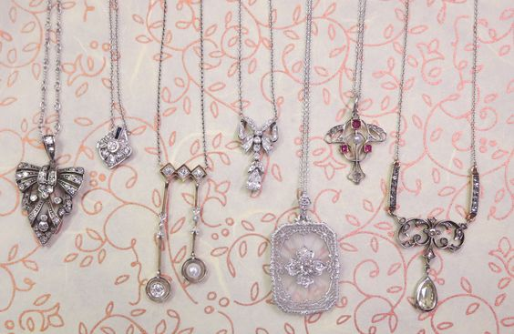 antique pendants, they'll do!