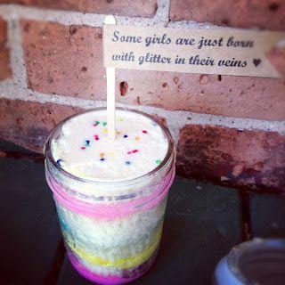 Some Girls Are Just Born With Glitter In Their Veins: Cupcake In A Jar    @jennifer marie  @deborah morawski