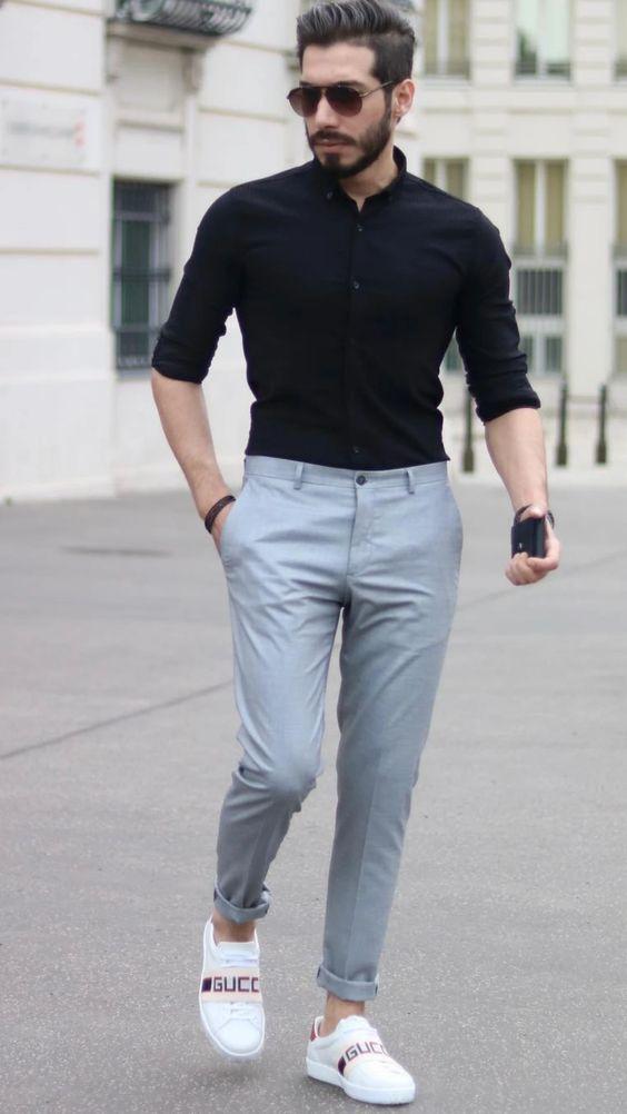 estilo casual elegante bem arrumado