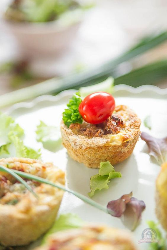 Quiche Cups – perfekt für anstehende Gartenpartys…   Das Küchengeflüster   Bloglovin'