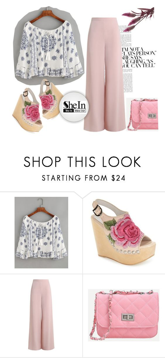 """SheIn !!!"" by maya-world ❤ liked on Polyvore featuring WithChic, Jeffrey Campbell and Zimmermann"