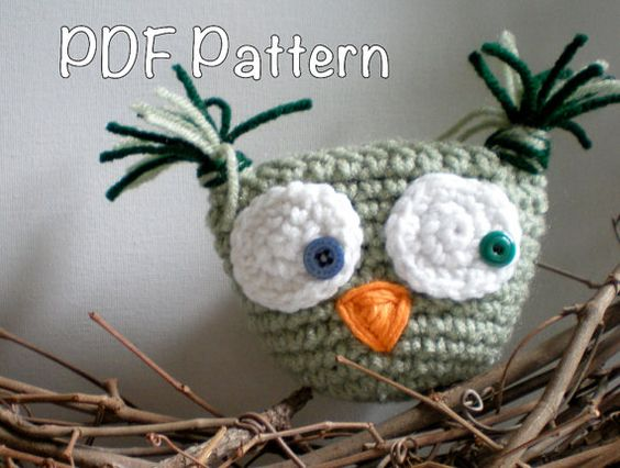 PATTERN:  Owl tooth pillow, stuffed owl, amirugumi, pocket, kids, gift holder, stocking stuffer, pdf,InStAnT DoWnLoAd, Permission to Sell