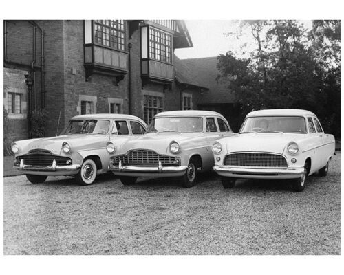 1956 Ford England Zodiac Zephyr Factory Photo Ca8029 Ford Photo