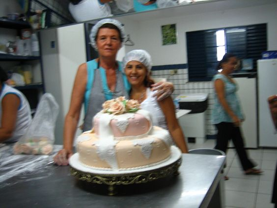fazendo bolos