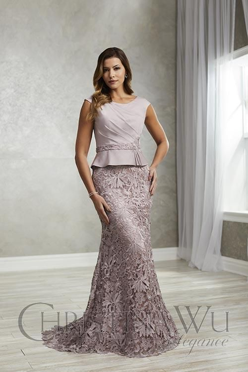 We Carry Several Lines Of Mother Of The Bride Groom Dresses At Whitelacebridal Christina Wu Elegan In 2020 Mothers Gowns Brides Mom Dress Mother Of The Bride Dresses