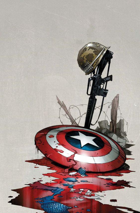 ron-garney-ultimate-comics-captain-america-4-apr2011.jpg — GeekDraw