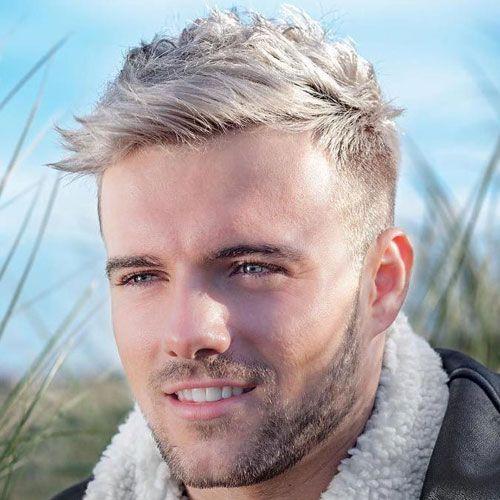 40 Best Blonde Hairstyles For Men 2020 Guide Men Blonde Hair Blonde Haircuts Platinum Blonde Hair Men