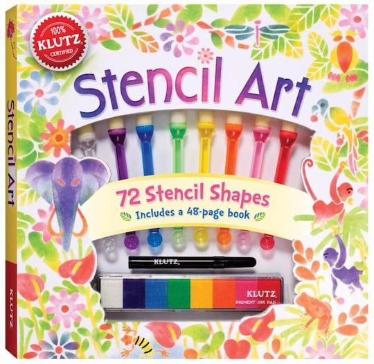 Stencil Art By Klutz Michaels Stencil Art Book Art Art