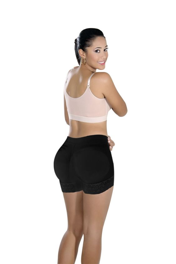 Fajas Colombianas Womens Buttlifter Seamless Shapewear Short Levanta Cola S0076