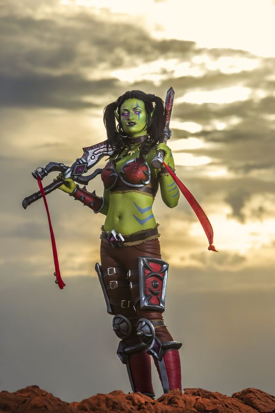 Garona Halforcen - World of Warcraft cosplay by Lynx-cosplay on @DeviantArt