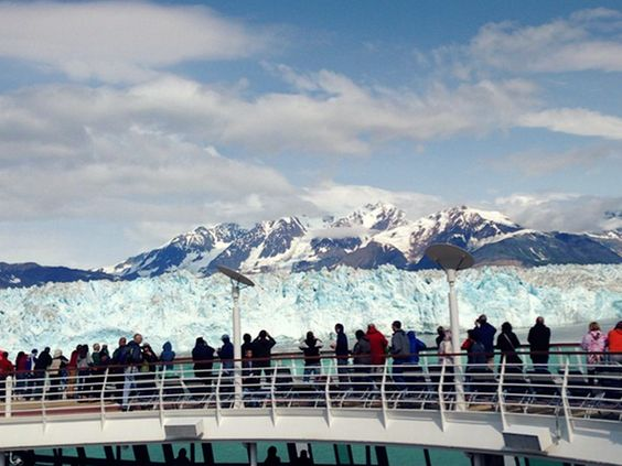 Glacier views from the top deck. #alaska: Cruise Views, Art Crafts, Cruise Vacations, Cruise Diva, Deck Alaska, Cruise Ships, Alaskan Cruise, Craft Ideas