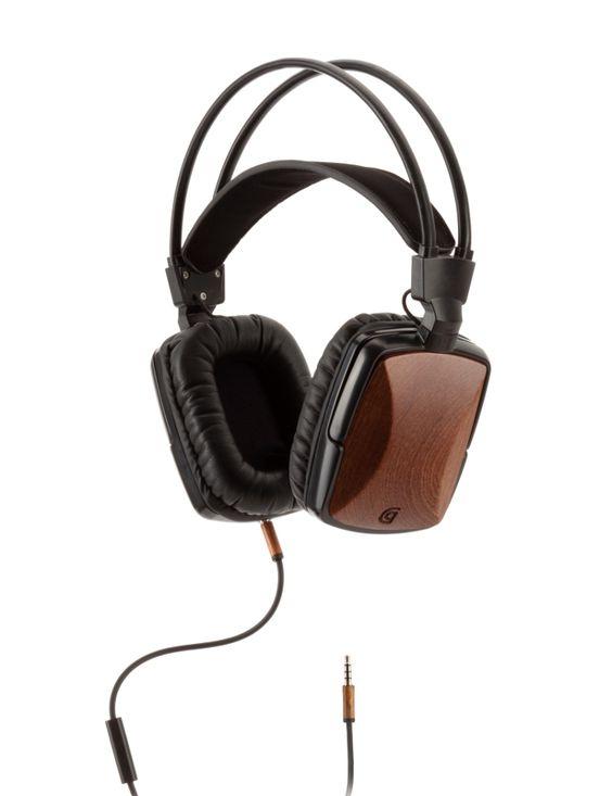 Griffin WoodTones headphones-£79.99 www.naturalcollection.com