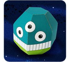 free download: Mauricio Monster Paper Toy