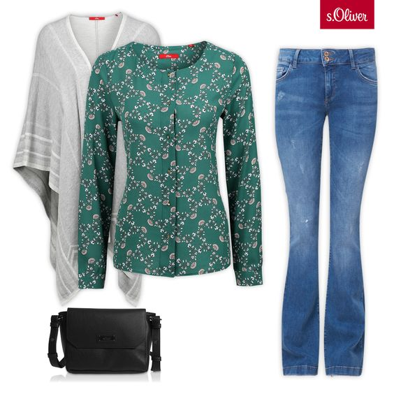 Check out 1 blouse - 3 styles #style #combination #jeans