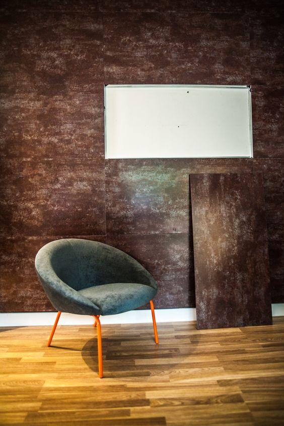 Steellayer Retrofit®. O primeiro e único revestimento decorativo em aço do mundo. Uma inovação Ananda Metais