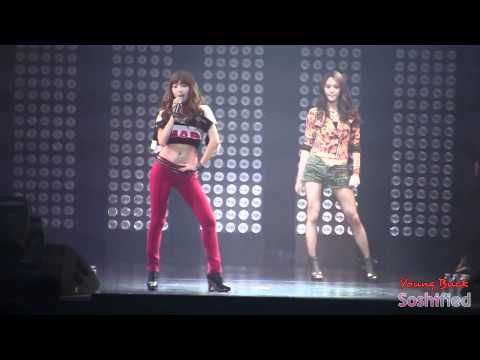 110611 Jessica & Krystal   Tik Tok SMTown Live Concert Paris 720p