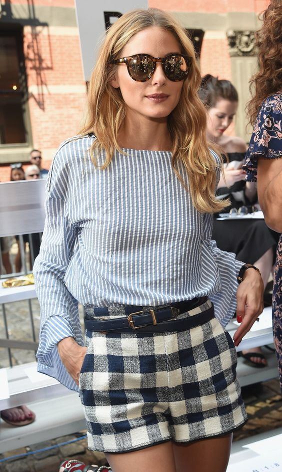 Olivia Palermo poses backstage at the Jonathan Simkhai fashion show during New York Fashion Week on September 10, 2016 in New York City.
