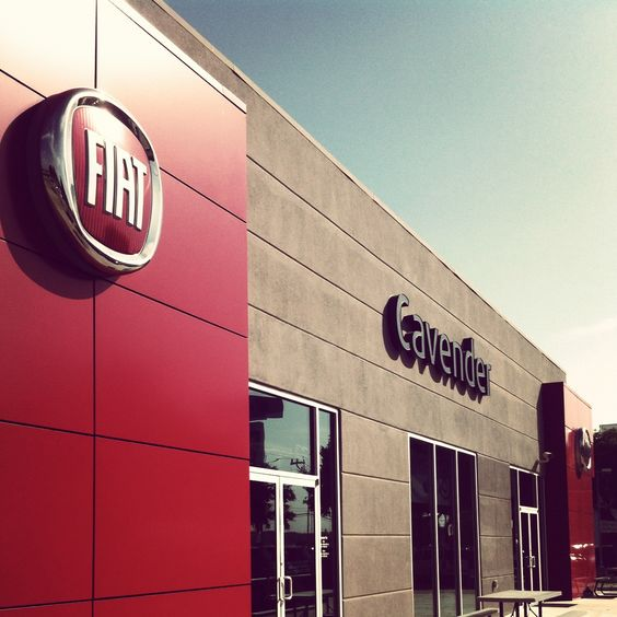 Come by the studio and test drive an Italian Fiat!