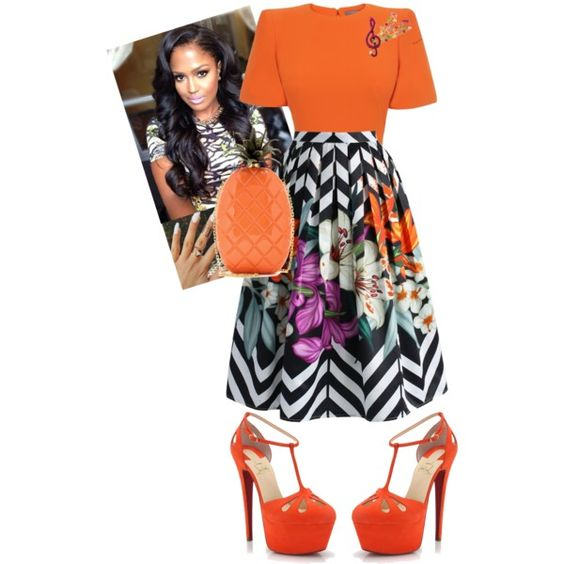 God Is Great by cogic-fashion on Polyvore featuring Alexander McQueen, Chicwish, Christian Louboutin and Valentino