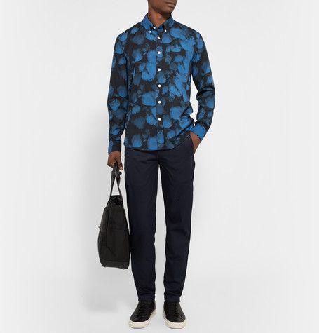 Saturdays Surf NYCCrosby Printed Cotton-Poplin Shirt