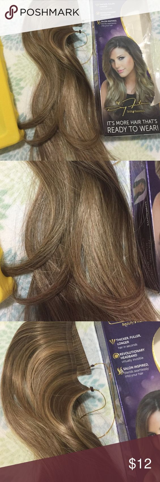 Secret Extensions In Dark Blonde New In Box Color Dark Blonde Size