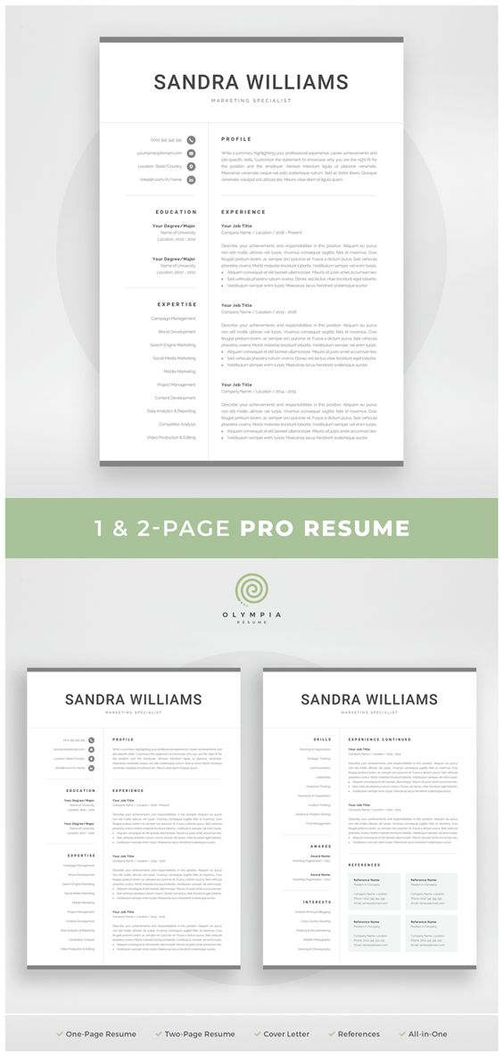 Olympia Resume (olympiaresume) on Pinterest - m w resume