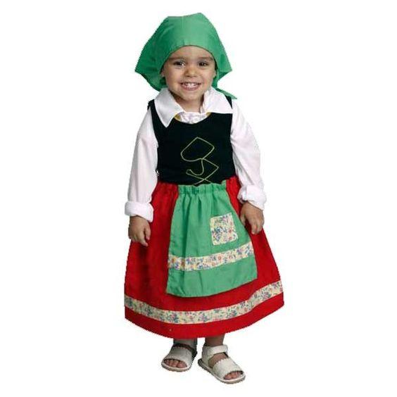 Disfraz de pastora para ni a disfraces de navidad - Disfraces para navidad ...