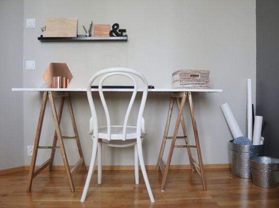 at home: DIY työpöytä