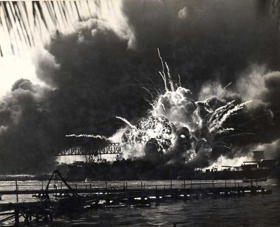 """Pearl Harbor - December 7, 1941, """"A day that will live in infamy"""""""