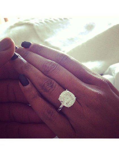 Celebrity engagement rings engagement rings and jennifer for Jenn im wedding ring