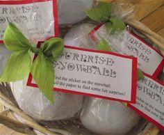 Speckled Egg: Surprise Snowballs