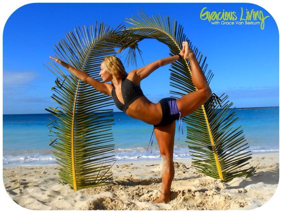Gone to yoga in balinisports yoga wear. Bahamas, paradise island   Photo by gracious living yoga retreat