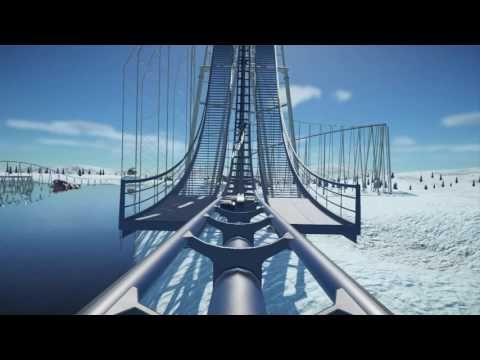 Planet Coaster: Ice-Cold Winter Coaster - YouTube | Video