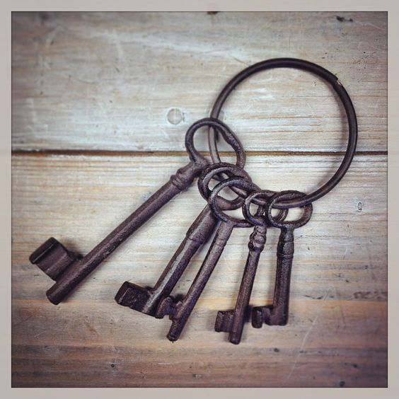 Our Cast Iron Keys will help you achieve a little Downton style – available in store. www.relicsofwitney.co.uk