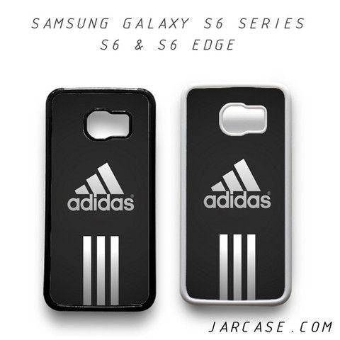 adidas sport black logo phone case for samsung galaxy s6