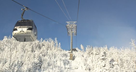 Cloudsplitter Gondola Ride, White Face Mountain, Lake Placid NY