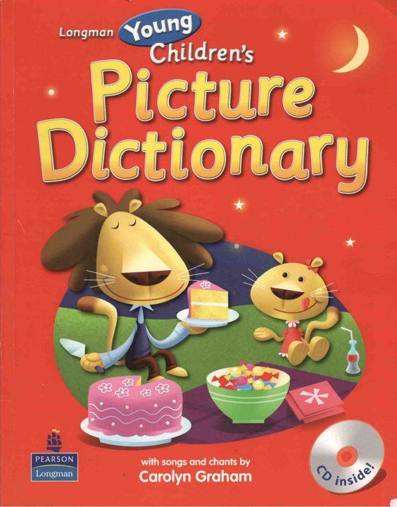 children's picture dictionary by elena_moreno via slideshare