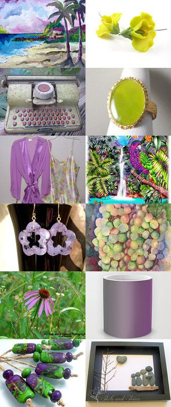 Pretty Colors for the Afternoon! by Deborah Muller on Etsy--Pinned with TreasuryPin.com