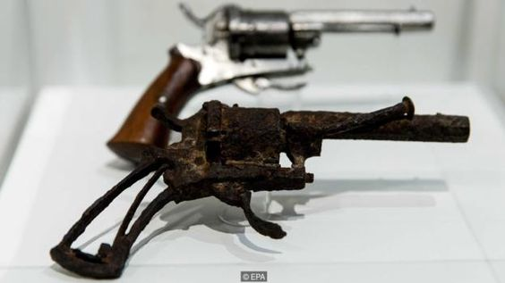 The gun with which Van Gogh supposedly shot himself