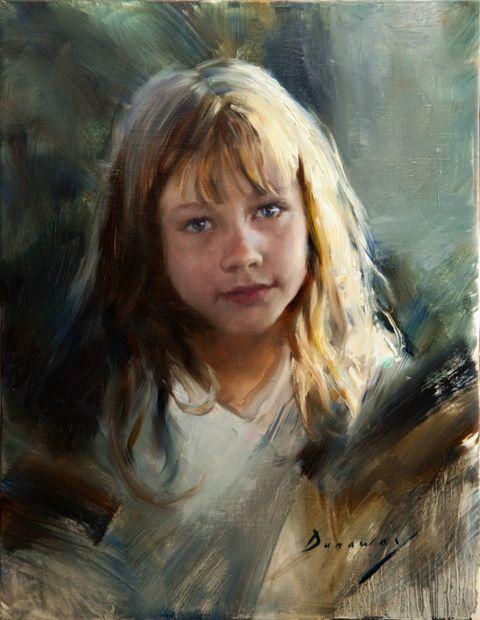 Artista: Michelle Dunaway - Título: A fé de uma criança