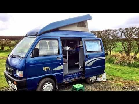 Daihatsu Hijet Campervan Youtube Daihatsu Campervan Suzuki Carry