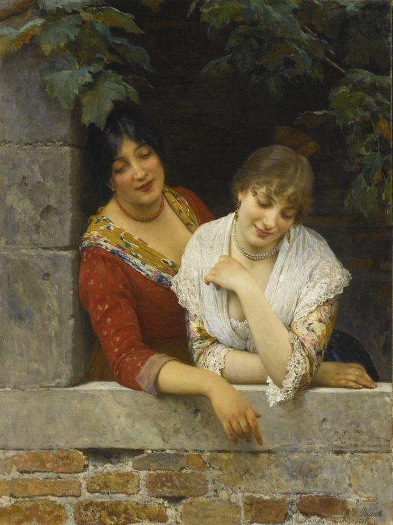 blaas, eugen von venetians at the b | beauties | sotheby's n09499lot9272fen:
