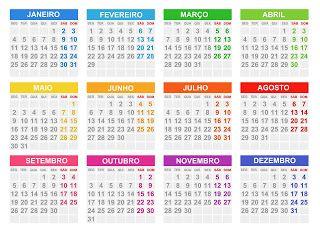 Base de calendário 2016 editável PSD,PNG,PDF e JPG | calendarios gratis
