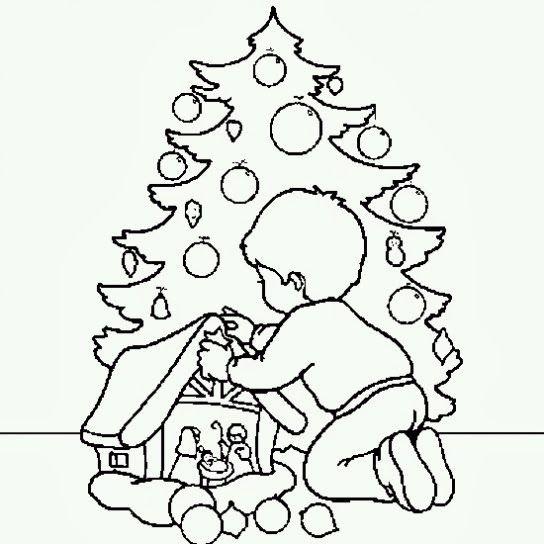 30 Nuova Alberi Di Natale Da Colorare E Stampare Per Bambini Con