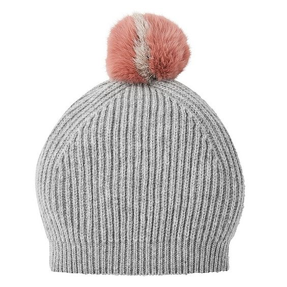 Lulu Grey Melange Wool Cashmere Hat | New Arrivals | Accessories | Collections | L.K.Bennett, London