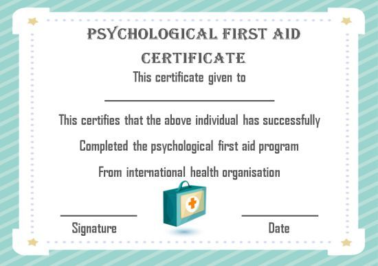 First Aid Certificate Template 15 Free Examples And Sample Templates Free Download Template Sumo Certificate Templates Templates First Aid